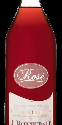 bouteille pineau des charentes rosé painturaud freres
