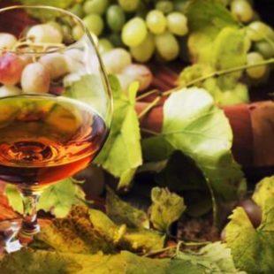 What grape varieties are used to make the Cognac eau-de-vie?